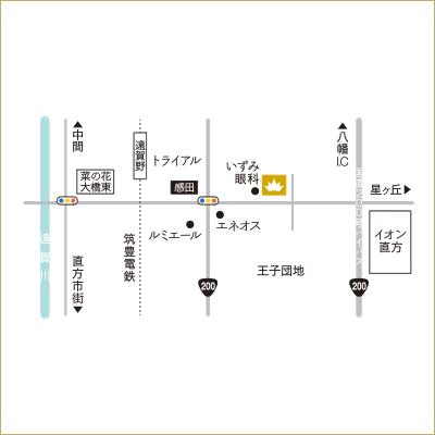 jannaグロー店地図